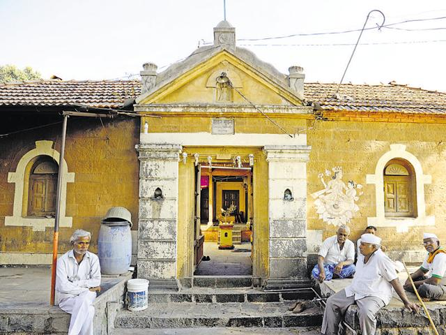 An old home in Wai, in central Maharashtra, where scenes from Swades were shot.