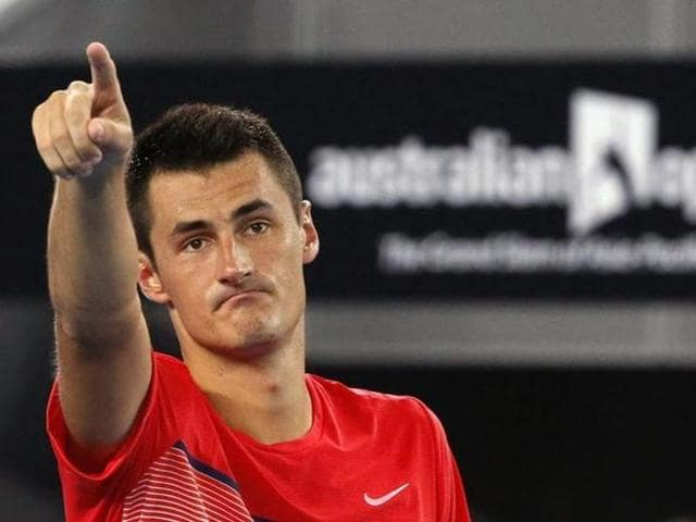 "Roger Federer had suggested Bernard Tomic had missed his ambition of a top 10 berth by a ""long shot"", prompting Tomic's reply."