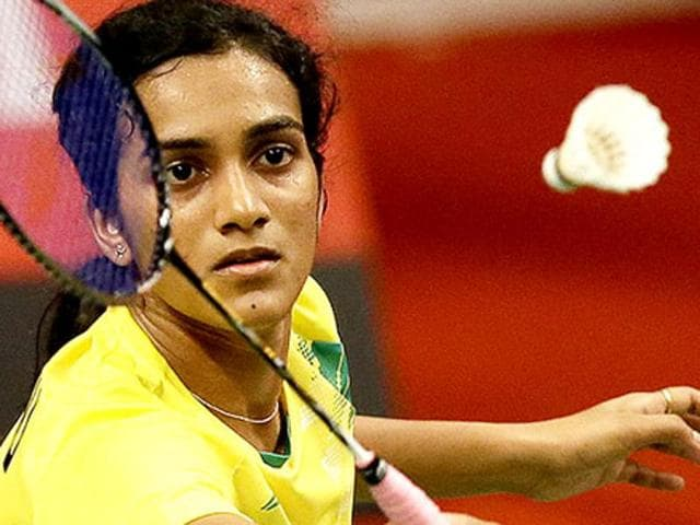 Sindhu outplayed Scotland's Kristy Gilmour in straight games to clinch her first trophy of the season.