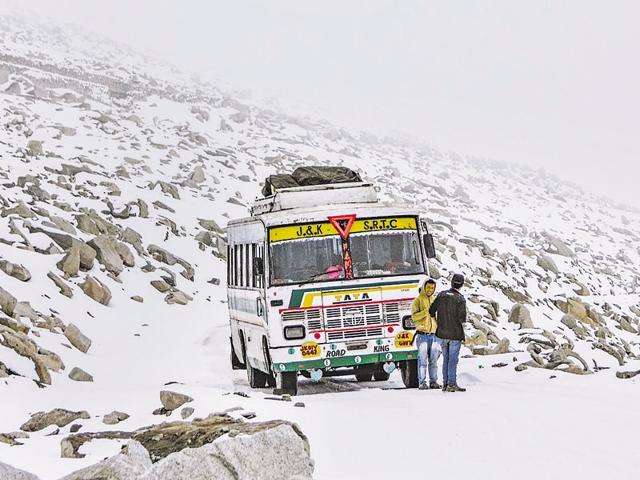A mountainscape in ladakh, courtesy photographer  Abhinav Chandel.