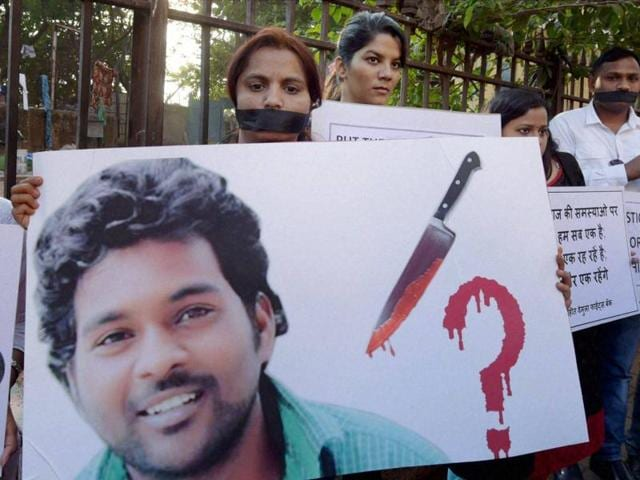 The campus keeps Rohith Vemula alive through protests demanding justice for the Dalit scholar who hanged himself a week back in the hostel of University of Hyderabad.