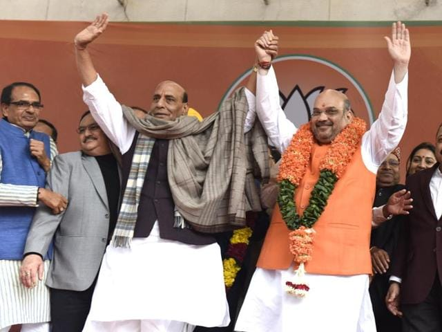 Amit Shah,BJP,Amit Shah re-elected
