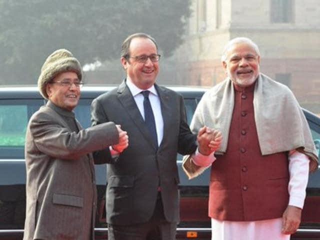 Francois Hollande,Republic Day parade,New Delhi