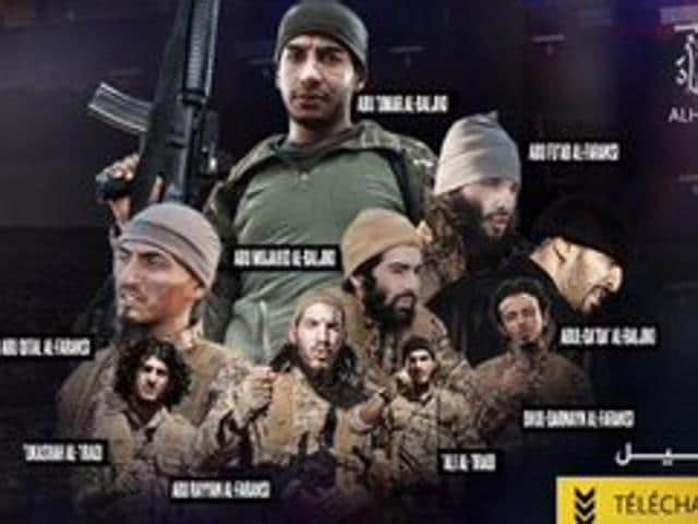 Footage of London and the House of Commons debate on bombing ISIS targets in Syria is featured in the disturbing the video.