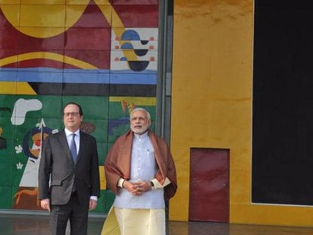 Narendra Modi,Francois Hollande,security