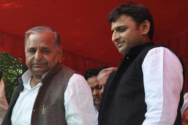 "Samajwadi Party (SP) national president Mulayam Singh Yadav on Sunday told chief minister Akhilesh Yadav to ""listen to everyone, but take the final decision on his own."""
