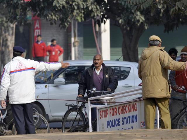 security measures,Punjab,Haryana