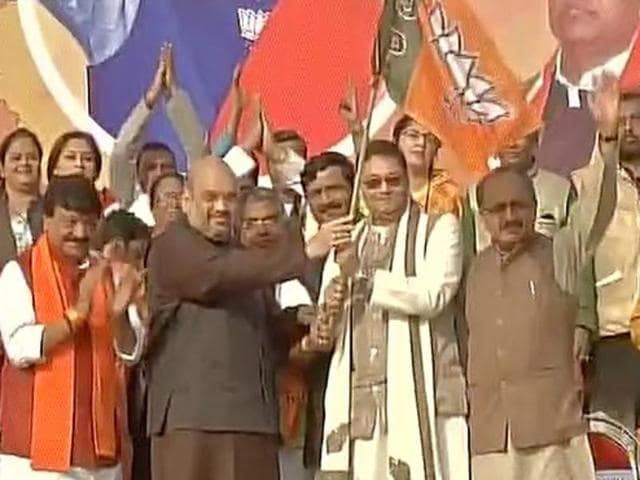 Chandra Bose, grand nephew of Netaji Subhas Chandra Bose, joined the BJP on Monday, January 25, 2016.
