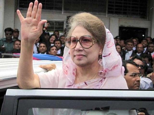 Former Bangladeshi PM Khaleda Zia.