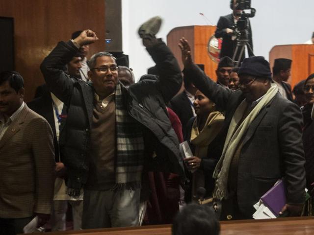 Madhesis protest