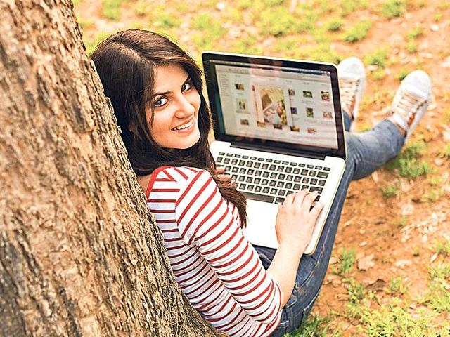 Higher education,Online course,India