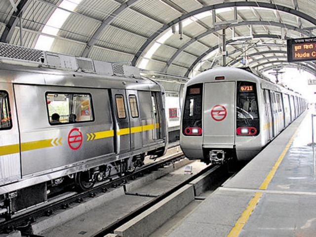 From February, customers will be given the option of getting products delivered at select metro stations so they can collect them at their convenience.(HT File Photo)