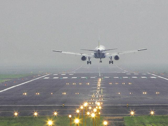 The on-time performance (OTP) report showed that on an average, only 74.36% flights every month were on schedule in Mumbai.