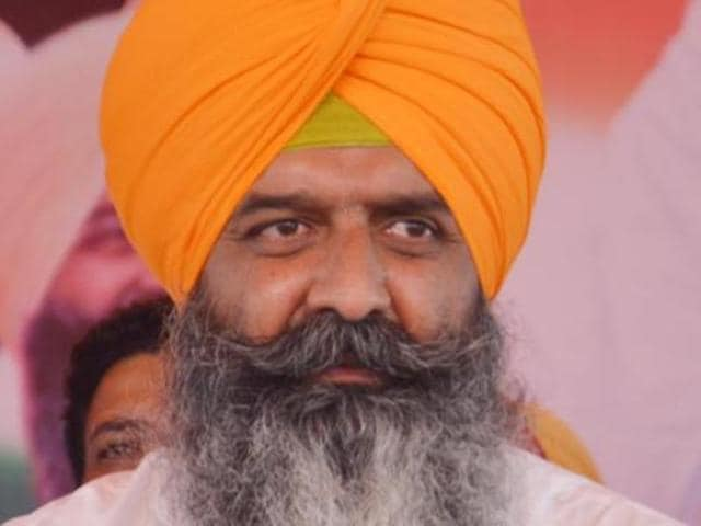 Ramanjit Singh Sikki, Congress candidate from Khadoor Sahib Assembly.