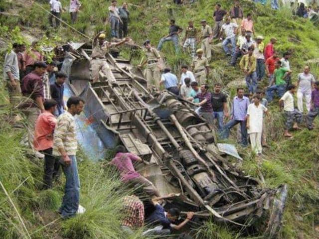 Meghalaya,Bus accident,Casualties