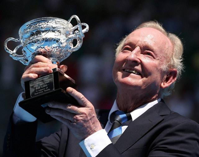 Rod Laver became only the third sportsman to be named a Companion of the Order of Australia, the country's highest honour, on January 26, 2015.