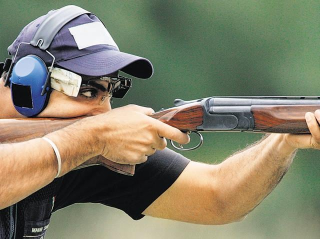 Trap shooter Manavjit Singh Sandhu is yet to qualify for the Rio Olympic Games.