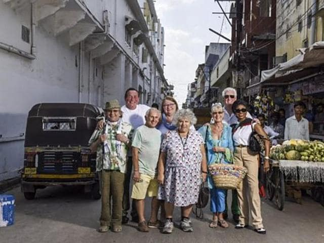 BBC has created a new television series which explores the idea of Britons travelling to India to spend their retirement.