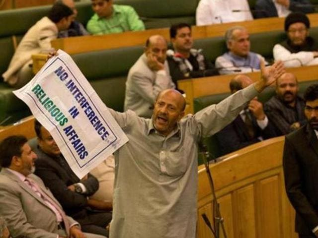 """Engineer Rashid, on Wednesday said the """"J&K is not a part of India just like Azad Kashmir is not a part of Pakistan""""."""