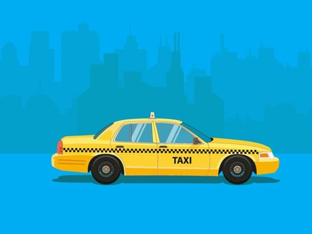 A 55-year old widow from Jalandhar in Punjab died in a moving taxi under mysterious circumstances in outer Delhi's Rohini area in the early hours of Wednesday.