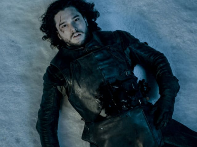Jon Snow is dead and Kit Harrington wants us to get used to it. A blow to the heart!