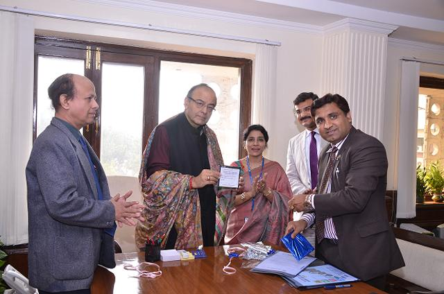 The results of the Company Secretaries foundation programme examination were released by Arun Jaitley (second from left), union minister for corporate affairs, finance and I&B on January 27, 2016.