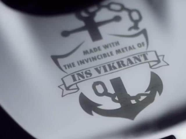Bajaj to forge new bike V from INS Vikrant's metal, launch on Feb 1