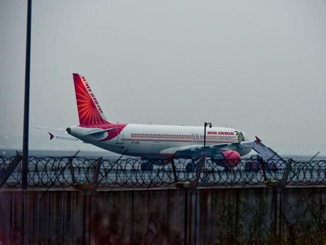 Air India flight AI-215 was delayed after receiving an anonymous call of