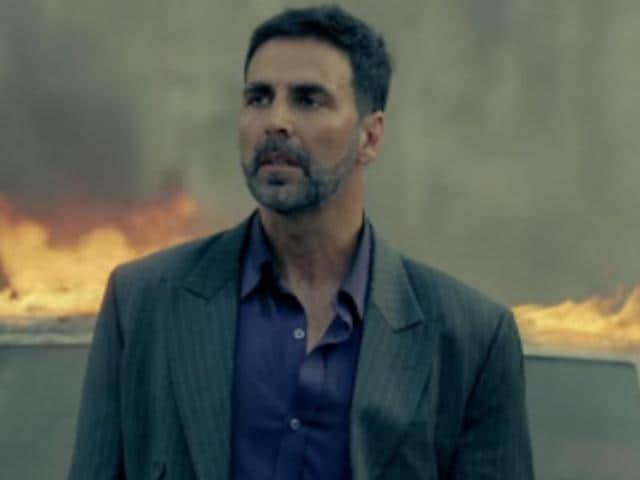 Akshay Kumar plays Ranjit Katyal, an NRI businessman in Airlift.