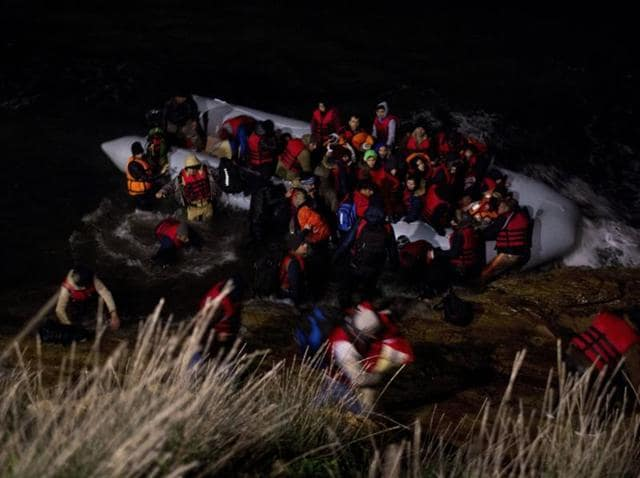 Migrants,Boat capsize,Greece
