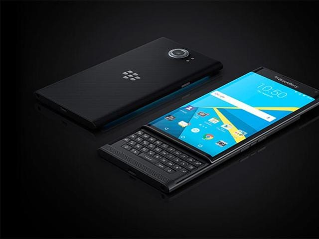 The Priv, which comes with a slider Qwerty keyboard and 5.4-inch display, was announced by the company CEO John Chen during the second quarter results of fiscal year 2016.