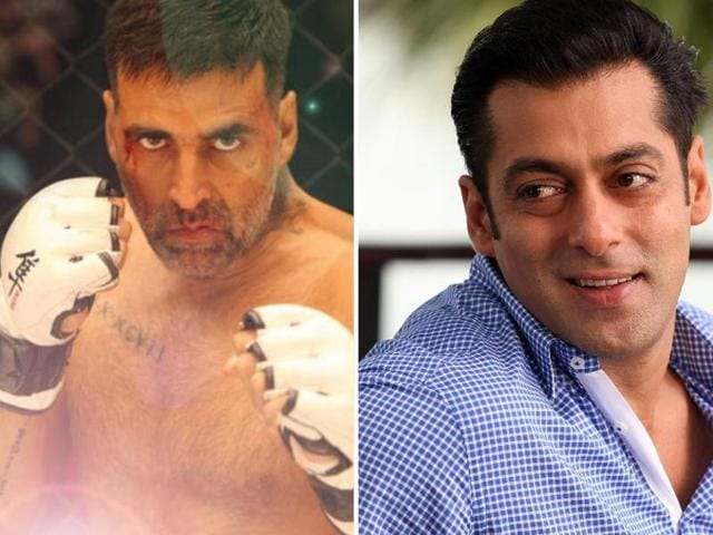 Salman Khan paid Rs 20 crore as advance tax, while Akshay Kumar paid a tax of Rs 16 crore in 2015.(Twitter)