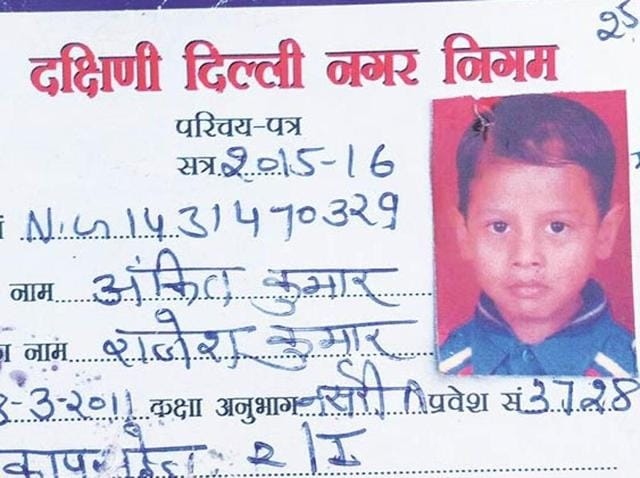 Ankit Kumar, a student of Class 1 of MCD school number 2 — had reportedly gone to use the washroom after school hours around 12 pm when he accidentally slipped and fell inside the open septic tank.