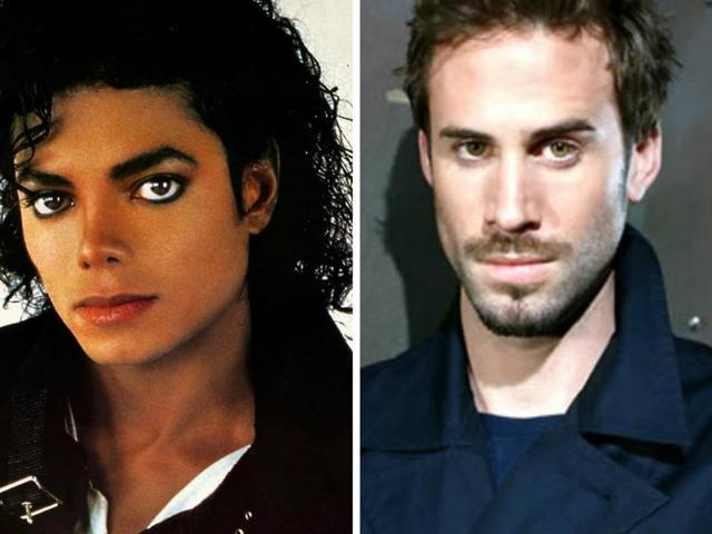 Michael Jackson and Joseph Fiennes: The casting decision has led to Black v White debate all over again.