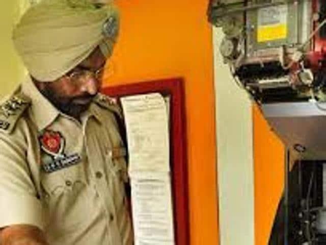 Punjab and Sind Bank ATM,Chandigarh,CCTV