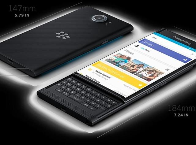 The version of Android on Priv borrows heavily from the Blackberry OS 10