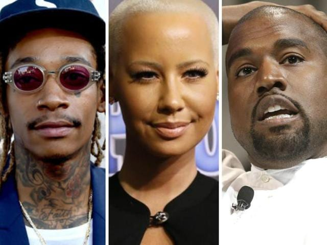 Kanye West,Amber Rose,Fight