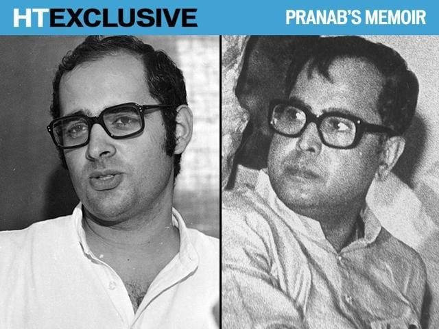 Pranab's Memoirs