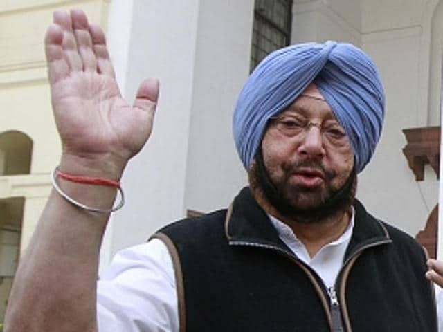 Punjab Congress president Capt Amarinder Singh on Thursday challenged deputy chief minister Sukhbir Singh Badal to dissolve the assembly and go in for a snap poll if he was so confident of his party's popularity in the state.