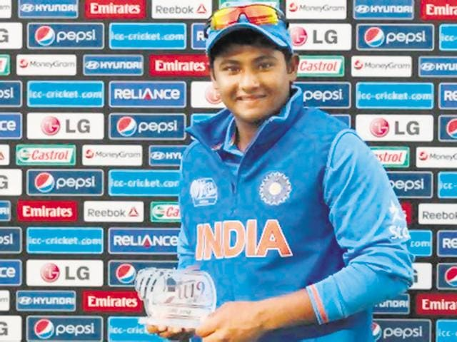 18-year-old Sarfaraz Khan is one of the most well-known players of India's U-19 squad, thanks to his stint with Royal Challengers Bangalore in IPL2015, and is one of the players to look out for.