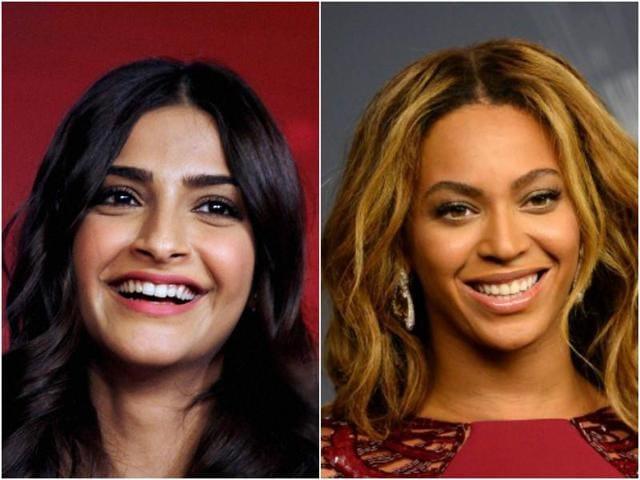 Sonam Kapoor,Beyonce,Coldplay