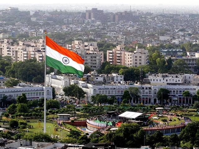 A view of New Delhi's Connaught Place. New Delhi is among the 20 cities which have made it to the first list of 20 urban centres to be developed as smart cities.