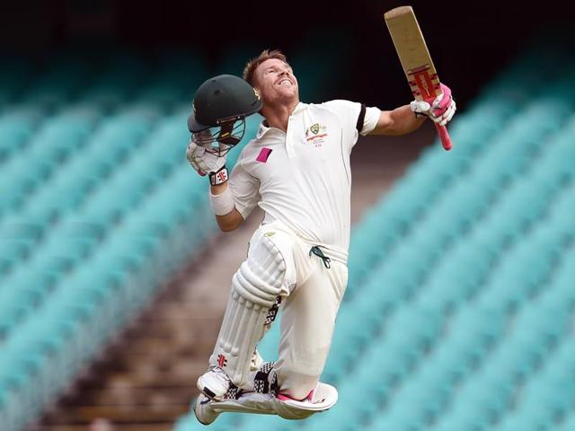 David Warner was on January 27 named the Australian Test player of the year.
