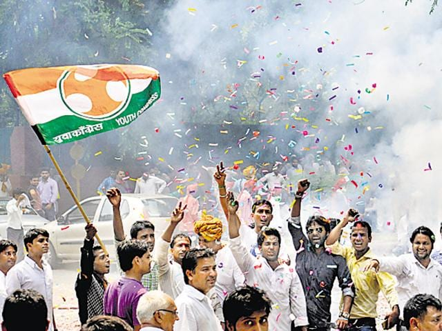 The youth wing of the Congress came under severe criticism from party seniors for not coming to their aid when it was fighting one of the most difficult elections in 2014.