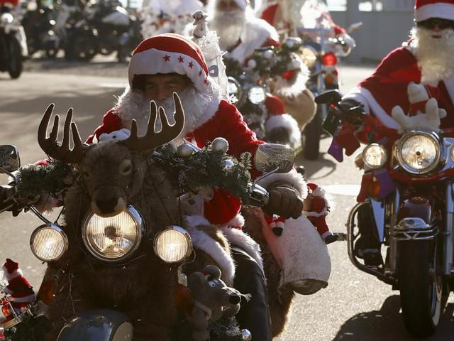 A man named Santa Claus was arrested for drunk driving by police in Idaho, United States.