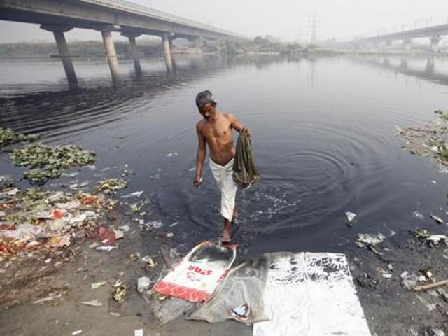 Ammonia in Yamuna five times higher than normal