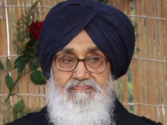 Punjab CM Parkash Singh Badal.