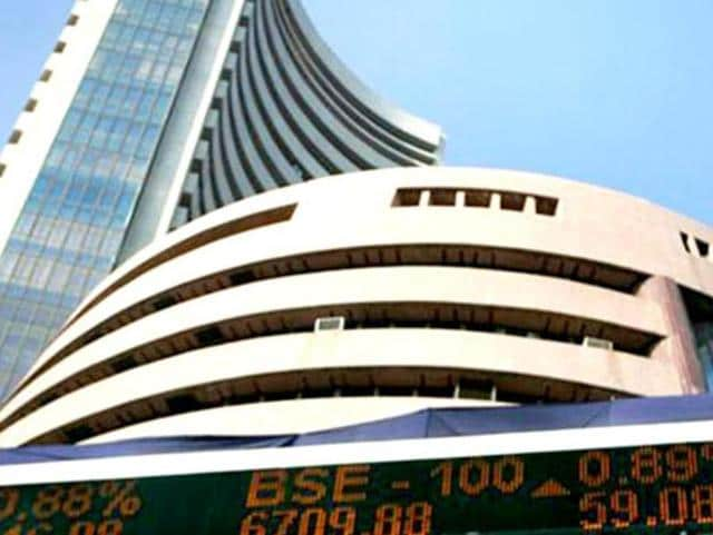 Stocks wrested some of their lost ground as they cut down their early losses, with the Sensex trading down by 27 points in view of the derivatives expiry for January.