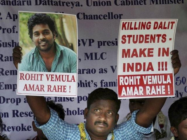 Rohit Vemula,National Scheduled Castes Finance and Development Corporation,Dalits