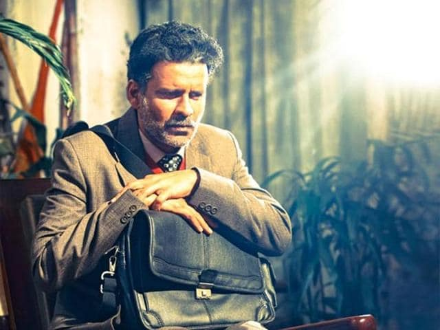 Manoj Bajpayee as a gay professor in Aligarh who is suspended from work due to his sexuality.